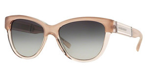 Burberry BE4206 35608G GREY GRADIENTTOP OPAL NUDE ON NUDE
