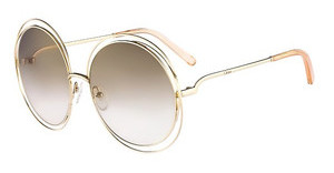Chloé CE114S 724 GOLD/TRANSPARENT PEACH