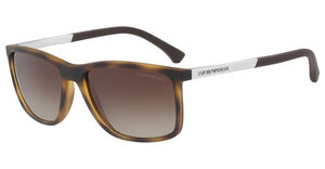 Emporio Armani EA4058 559413 BROWN GRADIENTHAVANA RUBBER