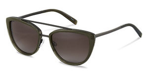 Jil Sander J1006 B brown gradient 84%olive, dark gun