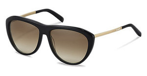Jil Sander J3015 A sun protect brown gradient - 77%black, gold