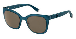 Max Mara MM MODERN VI UBX/EJ BROWNBLRUT BLU (BROWN)