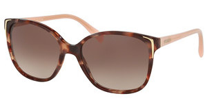 Prada PR 01OS UE00A6 BROWN GRADIENTSPOTTED BROWN PINK