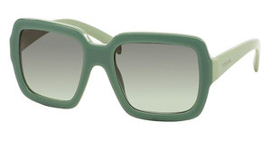 Prada PR 07RS TKQ4K1 GREEN GRADIENT GREYOPAL DARK GREEN ON GREEN