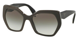 Prada PR 16RS UAM0A7 GREY GRADIENTOPAL BROWN ON BROWN
