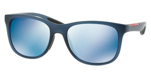 Prada Sport PS 03OS JAP9P1 BLUE MIRRORAVIO DEMI SHINY