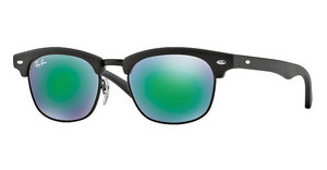 Ray-Ban Junior RJ9050S 100S3R LIGHT GREEN MIRROR GREENMATTE BLACK