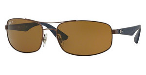Ray-Ban RB3527 012/83 POLAR BROWNMATTE DARK BROWN