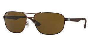 Ray-Ban RB3528 012/73 DARK BROWNMATTE DARK BROWN