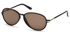 Tom Ford FT0149 01J roviexschwarz glanz