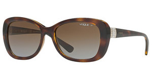 Vogue VO2943SB W656T5 POLAR BROWN GRADIENTDARK HAVANA