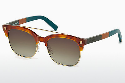 Kacamata surya Dsquared DQ0207 53K - Havanna, Yellow, Blond, Brown