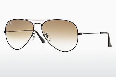 Kacamata surya Ray-Ban AVIATOR LARGE METAL (RB3025 014/51) - Coklat