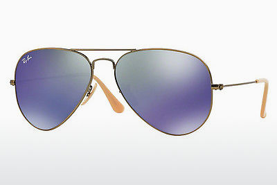 Kacamata surya Ray-Ban AVIATOR LARGE METAL (RB3025 167/68) - Coklat