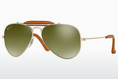 Kacamata surya Ray-Ban AVIATOR CRAFT (RB3422Q 001/M9) - Keemasan