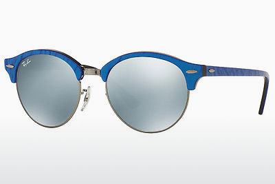 Kacamata surya Ray-Ban Clubround (RB4246 984/30) - Biru