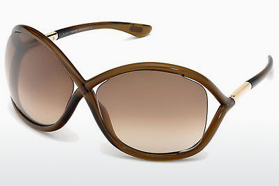 Kacamata surya Tom Ford Whitney (FT0009 692) - Coklat