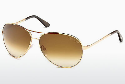 Kacamata surya Tom Ford Charles (FT0035 772) - Keemasan