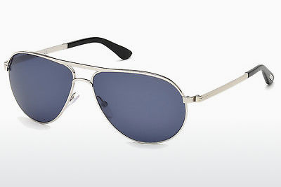 Kacamata surya Tom Ford Marko (FT0144 18V) - Silver, Shiny