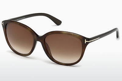 Kacamata surya Tom Ford Karmen (FT0329 50P) - Coklat, Dark