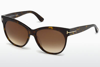 Kacamata surya Tom Ford Saskia (FT0330 56F) - Havanna