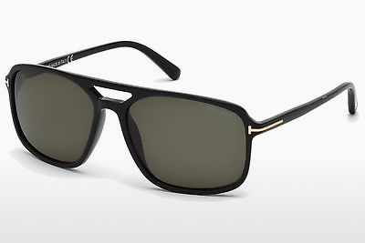 Kacamata surya Tom Ford Terry (FT0332 01B) - Hitam, Shiny