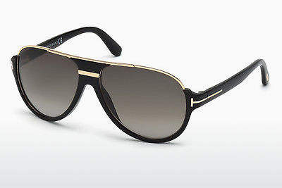 Kacamata surya Tom Ford Dimitry (FT0334 01P) - Hitam, Shiny