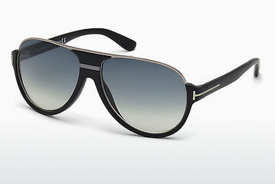 Kacamata surya Tom Ford Dimitry (FT0334 02W) - Hitam, Matt
