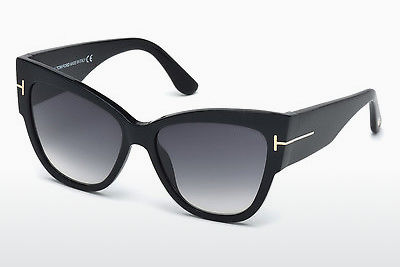 Kacamata surya Tom Ford Anoushka (FT0371 01B) - Hitam, Shiny