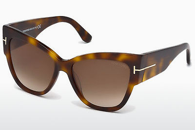 Kacamata surya Tom Ford Anoushka (FT0371 53F) - Havanna, Yellow, Blond, Brown