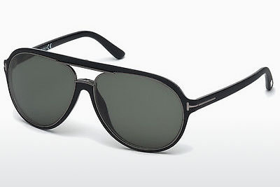Kacamata surya Tom Ford Sergio (FT0379 02R) - Hitam, Matt