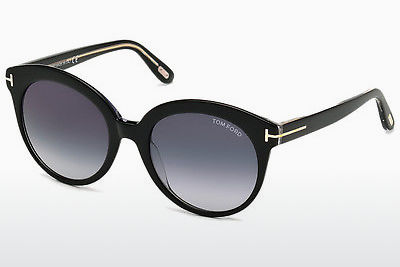Kacamata surya Tom Ford Monica (FT0429 03W) - Hitam, Transparent
