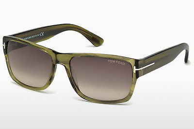 Kacamata surya Tom Ford Mason (FT0445 95K) - Hijau, Bright