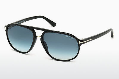 Kacamata surya Tom Ford Jacob (FT0447 01P) - Hitam, Shiny