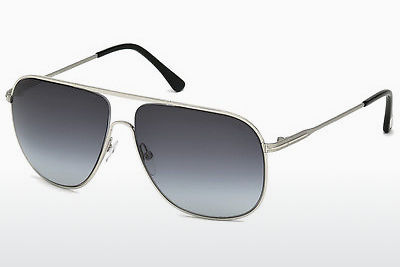 Kacamata surya Tom Ford Dominic (FT0451 16W) - Silver, Shiny, Grey