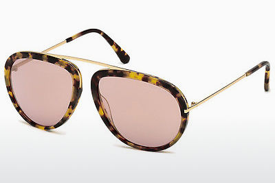 Kacamata surya Tom Ford Stacy (FT0452 53Z) - Havanna, Yellow, Blond, Brown