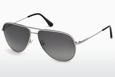 Kacamata surya Tom Ford Erin (FT0466 17D) - Abu-abu, Matt, Palladium