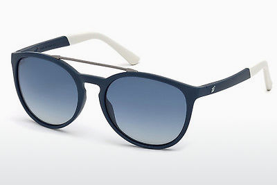 Kacamata surya Web Eyewear WE0183 91W - Biru, Matt