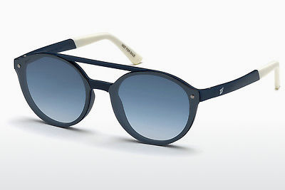 Kacamata surya Web Eyewear WE0184 91W - Biru, Matt