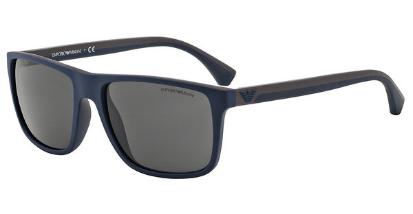 Emporio Armani   EA4033 523087 GREYTOP BLUE/BROWN RUBBER