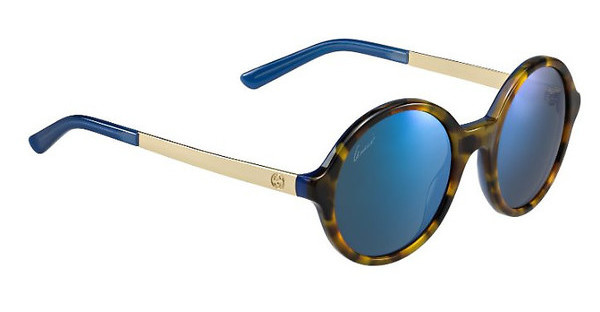 Gucci GG 3770/S H1J/1G MULTILAYER BLUEHVBLTT GD (MULTILAYER BLUE)