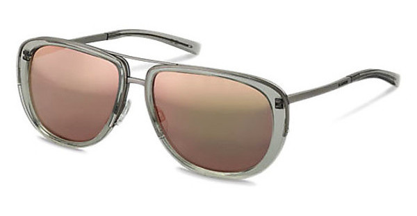 Jil Sander J1002 C rose gold mirror (gold at the edges)light grey crystal