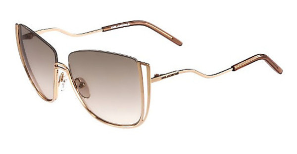 Karl Lagerfeld KL242S 531 SHINY ROSE GOLD