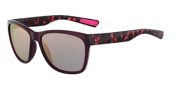 Nike NIKE VITAL R EV0882 626 CRYSTAL DEEP BURGUNDY/HYPER PINK TORT WITH GREY W/ML ROSE GOLD LENS