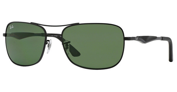 Ray-Ban RB3515 006/71 GREENMATTE BLACK