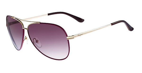 Salvatore Ferragamo SF131S 737 SHINY LIGHT GOLD W-CYCLAMEN
