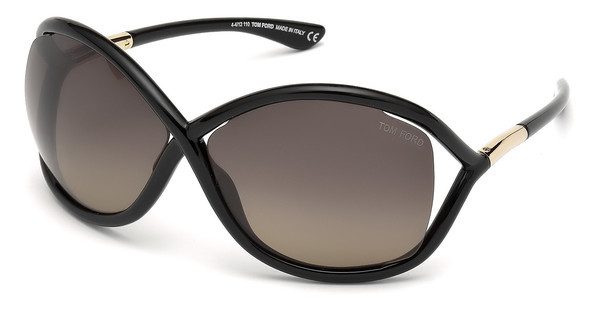 Tom Ford FT0009 01D grau polarisierendschwarz glanz