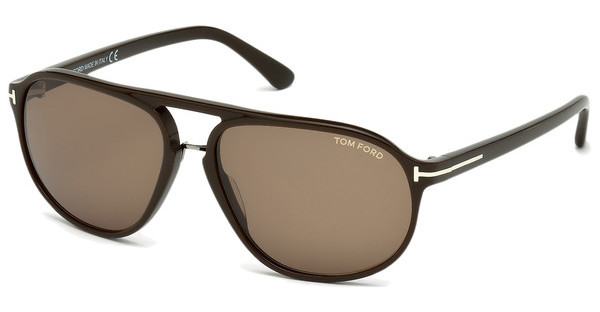 Tom Ford FT0447 49J roviexbraun dunkel matt